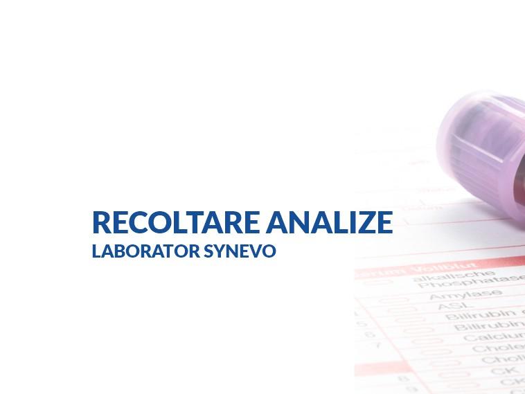 Recoltare analize laborator